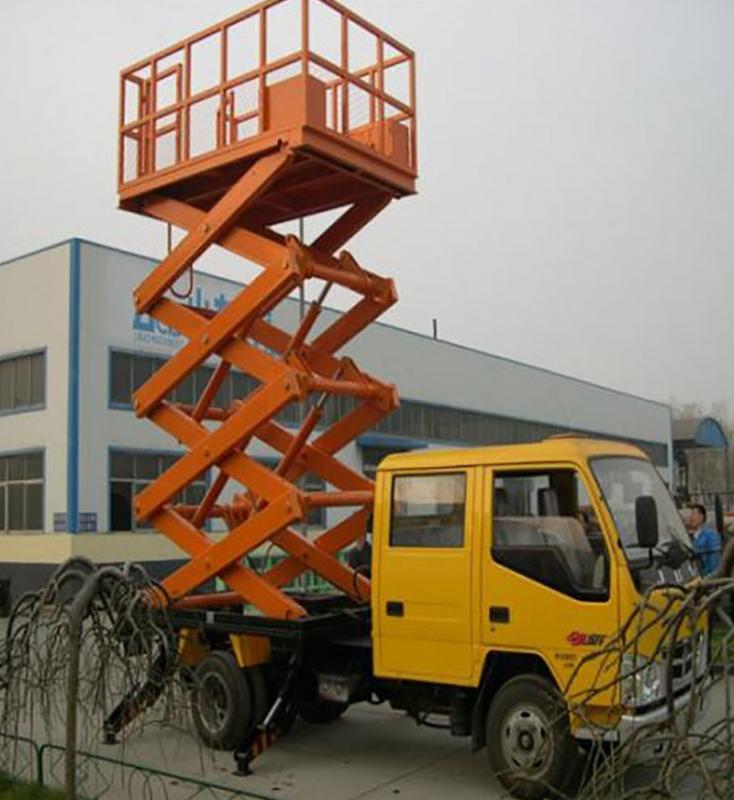 车载式云梯升降机