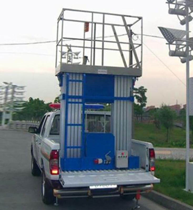 车载折臂式升降机