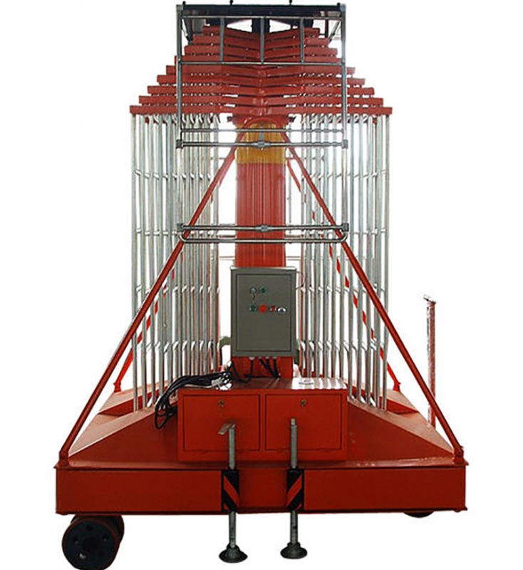 套缸式液压升降机平台