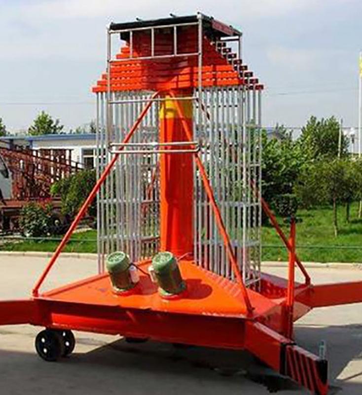 套缸式升降机