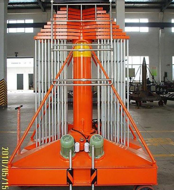 浙江套缸式升降机平台