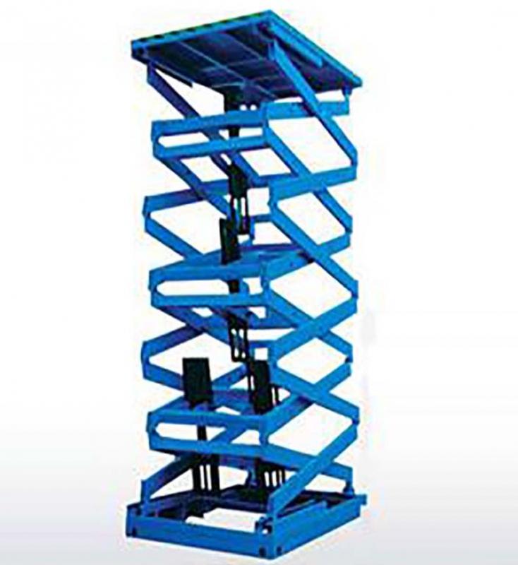 剪叉式固定升降货梯