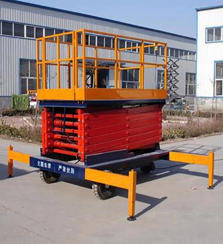 怎样正确使用移动式升降机